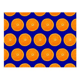Loco en las clementinas - azul postal