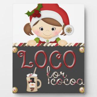 Loco for Cocoa Plaque