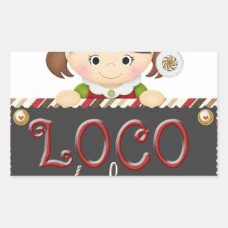Loco for Cocoa Rectangular Sticker