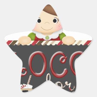 Loco for Cocoa Star Sticker