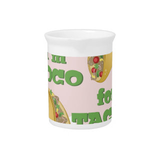 Loco For Tacos Beverage Pitcher