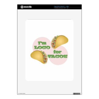 Loco For Tacos iPad Decal