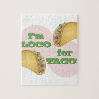 Loco For Tacos Jigsaw Puzzle