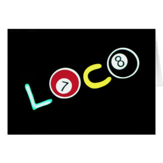 Loco ~ Greeting / Note Cards