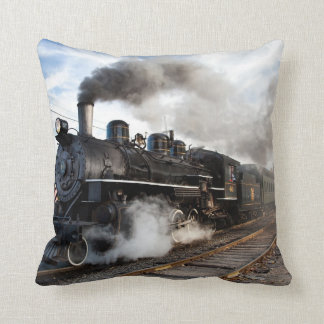 Loco Motion Throw Pillow