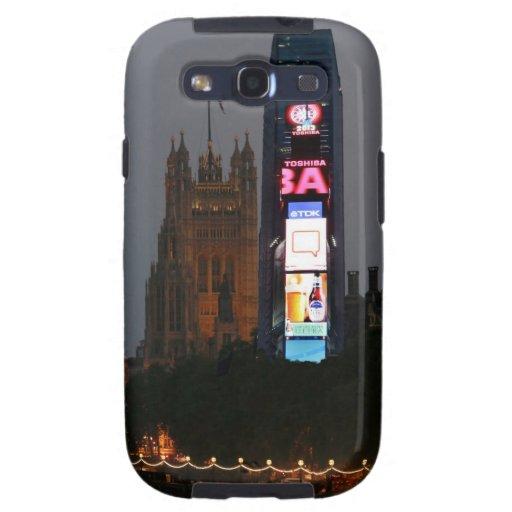 ¡Loco! New York City resuelve Londres Galaxy S3 Cárcasas