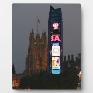¡Loco New York City resuelve Londres Placas De Madera