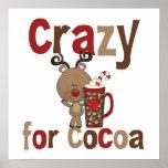 Loco para el cacao póster