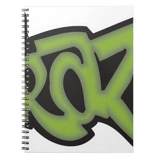 Loco - pintada libro de apuntes