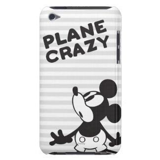 Loco plano clásico de Mickey el   Funda Para iPod De Barely There