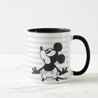 Loco plano clásico de Mickey el   Taza