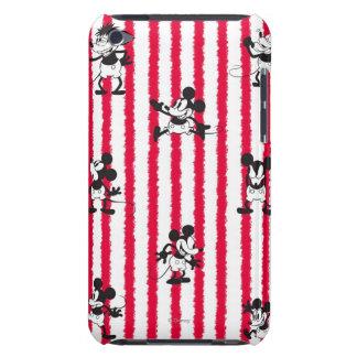 Loco plano de Mickey iPod Touch Case-Mate Carcasa
