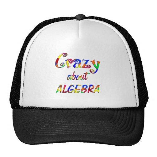Loco por álgebra gorra