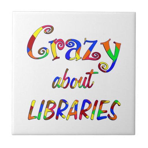 Loco por bibliotecas teja