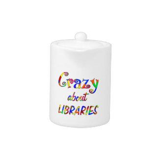 Loco por bibliotecas