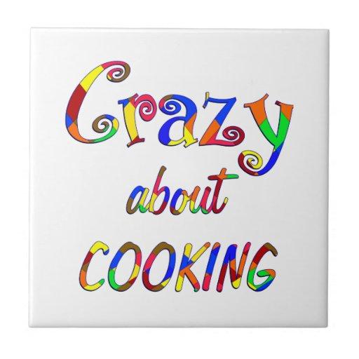 Loco por cocinar azulejos