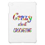 Loco por Crocheting iPad Mini Carcasa