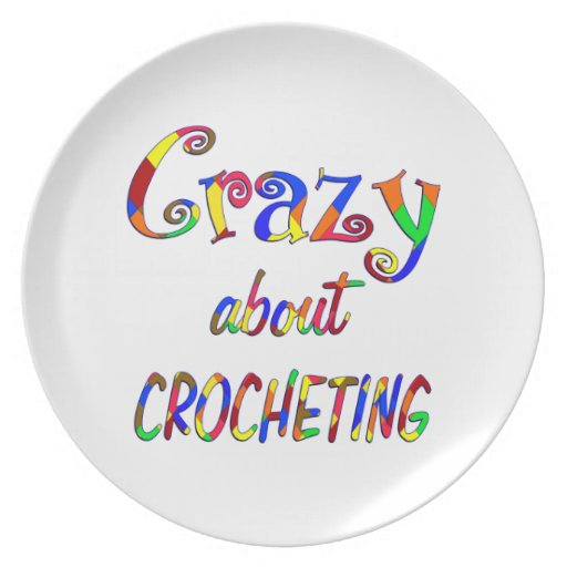 Loco por Crocheting Platos De Comidas