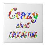 Loco por Crocheting Tejas Cerámicas