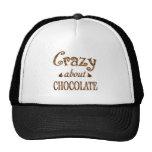 Loco por el chocolate gorras