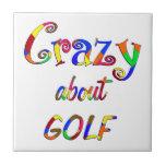 Loco por golf azulejos cerámicos