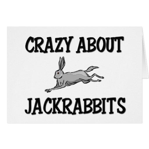 Loco por Jackrabbits Felicitacion