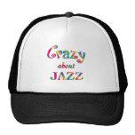 Loco por jazz gorras