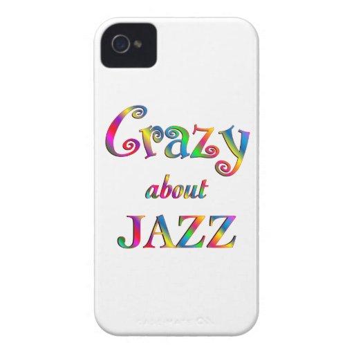 Loco por jazz iPhone 4 funda