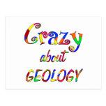 Loco por la geología postal