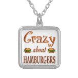 Loco por las hamburguesas collares