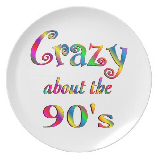 Loco por los años 90 plato