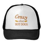Loco por los perritos calientes gorro