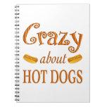 Loco por los perritos calientes libretas