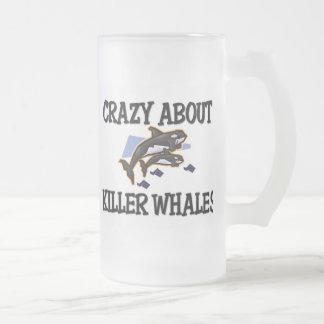 Loco por orcas tazas de café