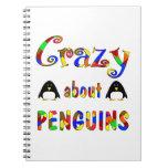 Loco por pingüinos libros de apuntes