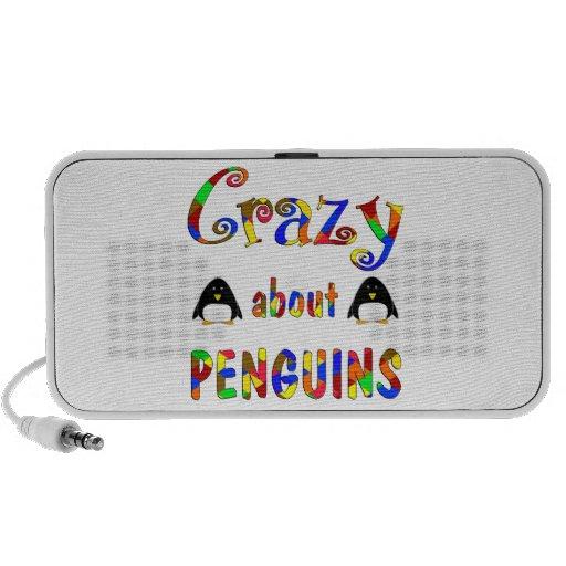 Loco por pingüinos sistema altavoz