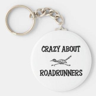 Loco por Roadrunners Llaveros