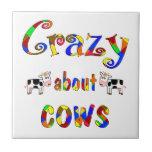 Loco por vacas azulejo
