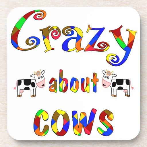 Loco por vacas posavasos