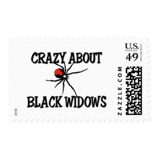 Loco por viudas negras sellos