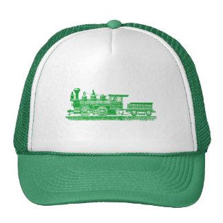 Locomotive 02 - Grass Green Trucker Hat