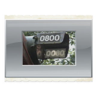 locomotive 0800 Headlight Postcard