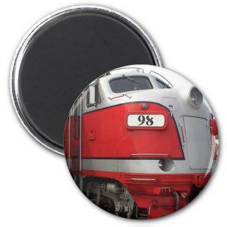 Locomotive 2 Inch Round Magnet