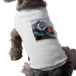 Locomotive and Caboose Pet Shirt