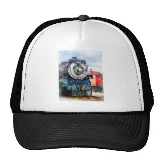 Locomotive and Caboose Trucker Hat