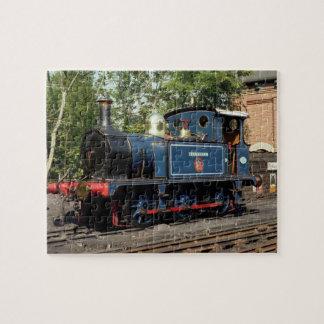 Locomotive Bluebell Train Jigsaw Puzzle