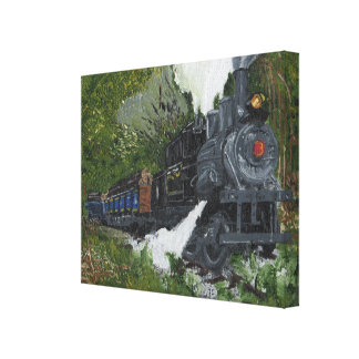 Locomotive Gallery Wrapped Canvas