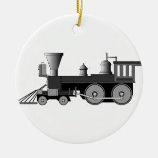 Locomotive Christmas Ornament