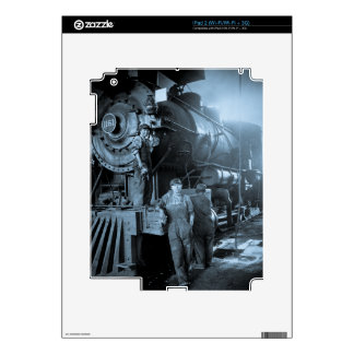 Locomotive Ladies Roundhouse Rosies World War I iPad 2 Decal
