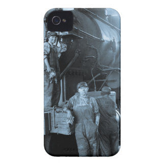 Locomotive Ladies Roundhouse Rosies World War I iPhone 4 Cover